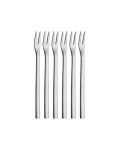 Wmf Cocktail Forks, Set Of 6 Nuova