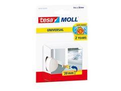 Universele zelfklevende Tesamoll schuimprofiel wit  38X2Mmx1M/Rol 5422