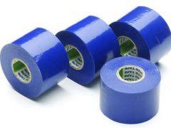 Isolatietape blauw 50mm x 20m (4st)