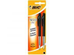 Bic M10 Zwart 2 St