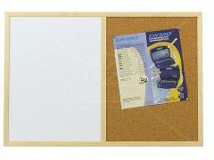 Combinatiebord 40X60Cm Fijne Kurk-White
