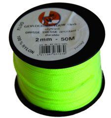 Gevl Nylon 2Mm B.50M Fluo