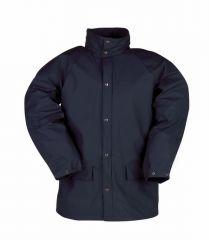 Sioen regenjas marineblauw - L