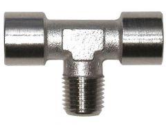 T-Stuk 1/4 X 1/4 I 1/4 E (Blister)