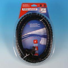 Kabelhoes 15mm 2m zwart