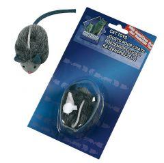 Pluche muis met geluid