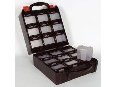 Plastic Tool Box Met 18 Plastic Doosjes
