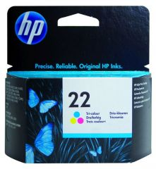 Hp Inkcartridge Nr 22 Tri Color