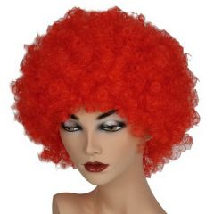 Pruik Hair Rood