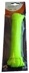 Gevl. Nylon 3Mm-20M Fluo Op Kaart