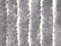 Deurgordijn Fluweel 90X200 Cm Lichtgrijs