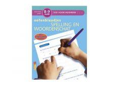 Tijd Voor Huiswerk - Spelling En Woordenschat 8-9J