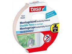 Dubbelzijdige montagetape Transparant 5X19Mm