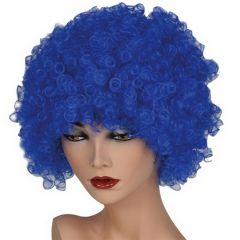 Pruik Hair Blauw