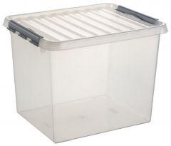 Q-Line Opbergbox Xl 52 L Transparant