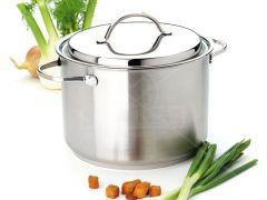 Demeyere Resto 3 Hoge Kookpot  Deksel 12L 24Cm