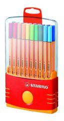 Stabilo Point 88 Colorparade 20 Stuks + Hanger