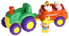 Muziekale tractor & trailer