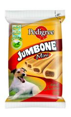 Pedigree snacks jumbone mini rund 4st