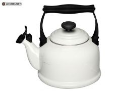 Le Creuset Waterketel Tradition Wit