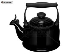 Le Creuset Waterketel Tradition Zwart