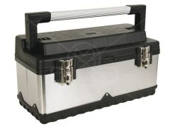 Gereedschapskoffer rvs 505x245x225mm