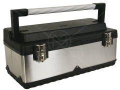 Gereedschapskoffer rvs 590x280x275mm