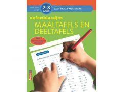 Tijd Voor Huiswerk - Oefenblaadjes Maaltafels En Deeltafels