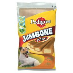 Pedigree snacks jumbone mini gevogelte 4st