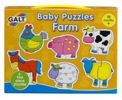 Baby puzzel boerderij