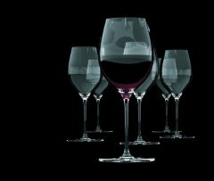 S&P Wijnglas Cuvee Rode 60 Cl Setje 6 Stuks