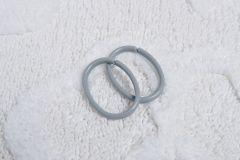 Clips Ring Blister Grijs 12 Stuks