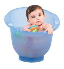 Shantala baby bath blue