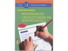 Tijd Voor Huiswerk - Oefenblaadjes Bewerkingen, Vraagstukken