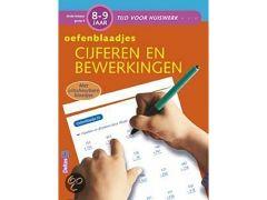 Tijd Voor Huiswerk Oefenblaadjes Cijferen En Bewerkingen