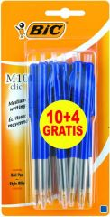 Bic M10 10+4Gratis Blauw