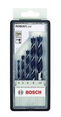 Bosch accessoires Houtborenset   Robustline   Zeskant   5-Delig