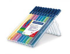 Triplus Viltstiften Color 10St Box