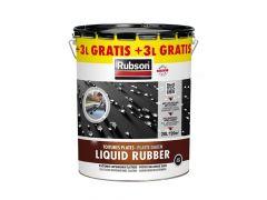 Rubson Liquid Rubber Zwart 20L
