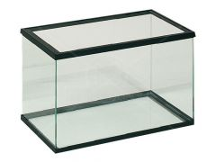 Aquarium Volglas Zwart - 40x20x25cm