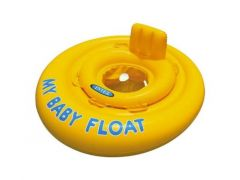 Intex 56585 My Baby Float 1-2-3 Yellow