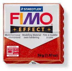 Fimosoft Glitter Rood