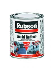 Rubson Liquid Rubber Zwart 750Ml