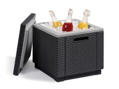 Allibert Ice Cube Wicker Antracite