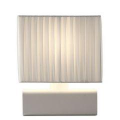 Clarice Tl 1-Lichts Wit 20X12.5X24Cm