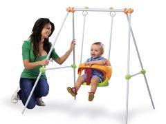 Smoby 310046 Baby Schommel Metal Swing 120Cm