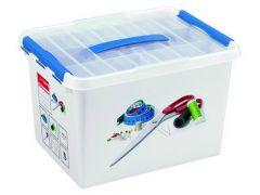 Q-Line Multibox 22 L Naaidoos Wit/Blauw
