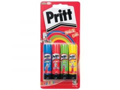 Pritt Rainbow Stick Blue 4X 10 Gr Blister