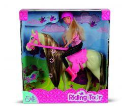 Steffi Love met rij outfit & paard 29 cm