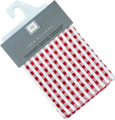 Tiseco Vaatdoek Wafel Cristal 32X35 Red C/6